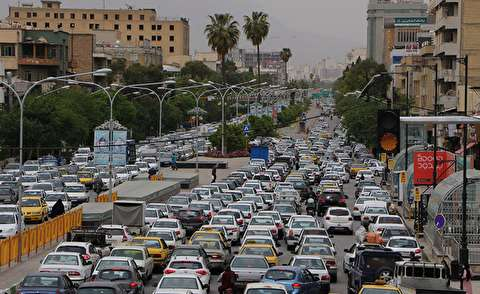 وضعیت نگران کننده خیابانهای شیراز