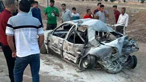 تصادف مرگبار در اتوبان کرج - قزوین/ ۲۵ کشته و مجروح + عکس
