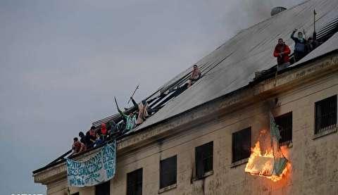 شورش زندانیان آرژانتینی در پی شیوع کرونا در زندان