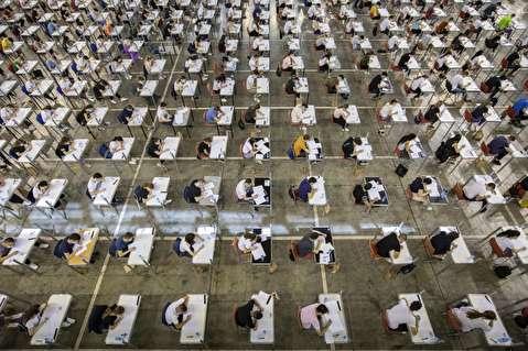 استرس، ماسک و فاصله؛ امتحانات در اوضاع پاندمی ویروس کرونا