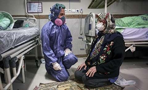 زندگی دختر ورزشکار ایرانی در بخش ایزوله بیماران کرونا