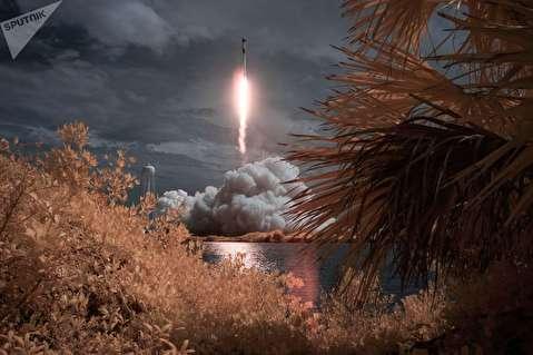 اولین پرتاب فضاپیمای کرو دراگون