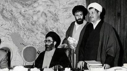 تصویری کمتر دیده شده از رهبر انقلاب و آیت الله هاشمی
