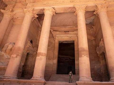 بازگشایی شهر باستانی پترا