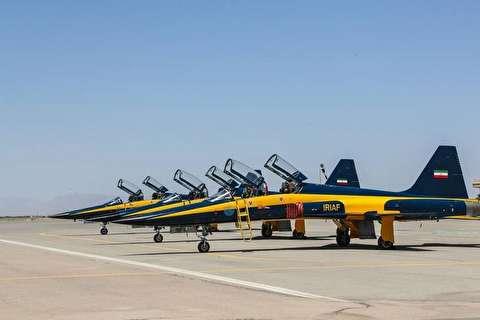 تحویل ۳فروند جت جنگنده کوثر به ارتش