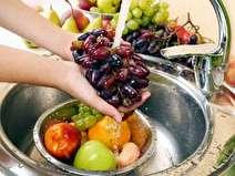 خطر باقی ماندن شوینده ها روی مواد غذایی