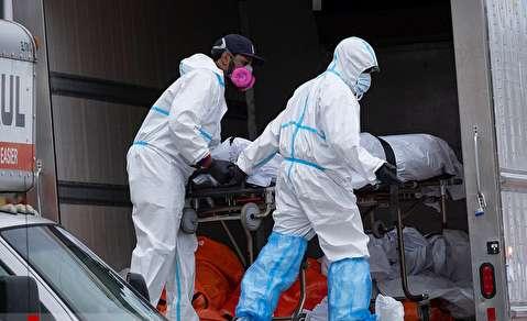 کشف کامیونهای حامل اجساد قربانیان کرونا در بروکلین