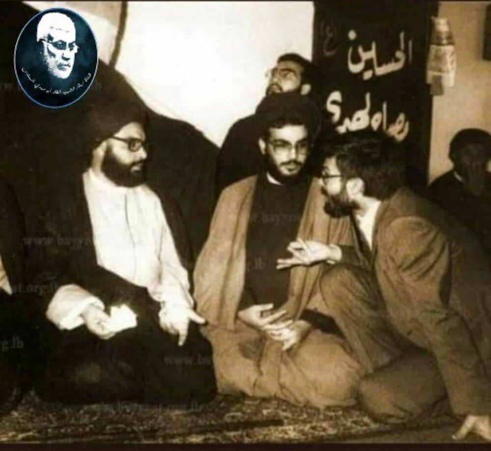 عکس قدیمی از رهبران جبهه مقاومت