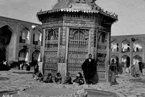 تصاویر قدیمی از حرم امام رضا (ع)