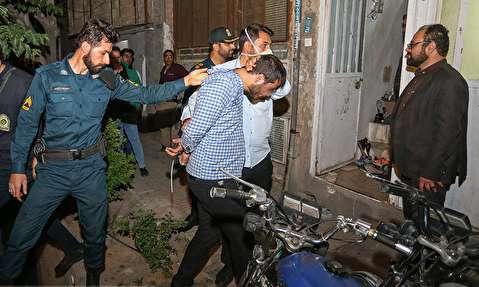 دستگیری اراذل و اوباش در قم