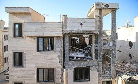 انفجار در خانه مسکونی خیابان کمیل تهران