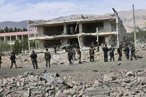 تصاویر جدید از انفجار مرگبار در افغانستان