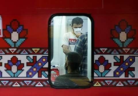 مترو تهران بعد از اجباری شدن ماسک