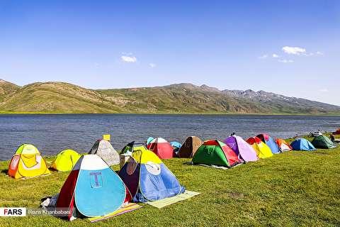 دریاچه نئور در اردبیل