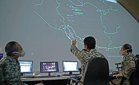 جدیدترین تصاویر منتشر شده از مرکز محرمانه امنیت آسمان ایران!