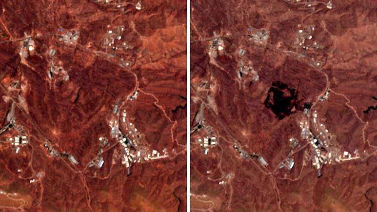 تصاویر انفجار شرق تهران، پای بازرسان را به ایران باز می کند؟