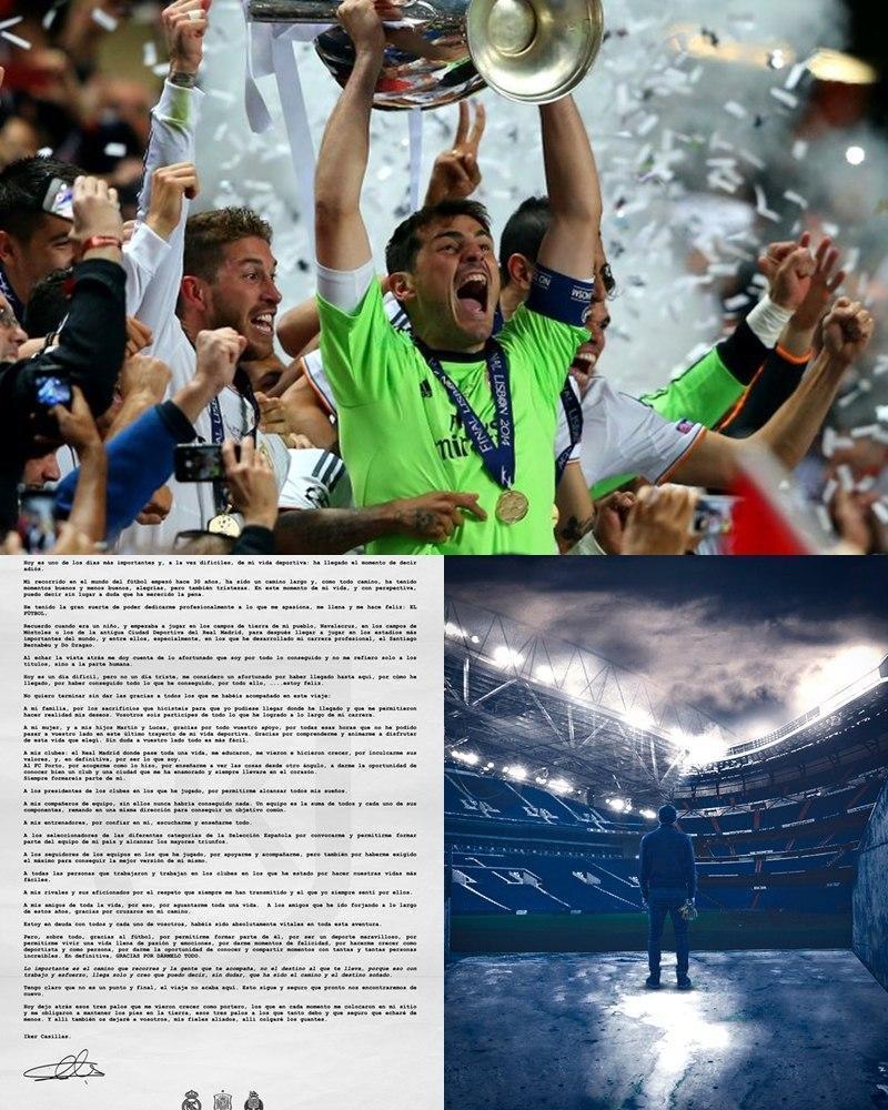 خداحافظی رسمی کاسیاس از دنیای فوتبال