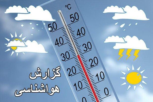 افزایش 4 تا 8 درجهای دما در برخی مناطق کشور/ بارشهای پراکنده
