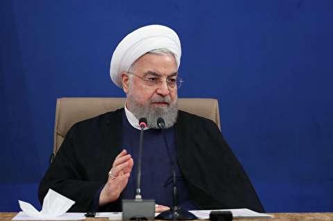 سخنان روحانی در جلسه هیات دولت + صوت