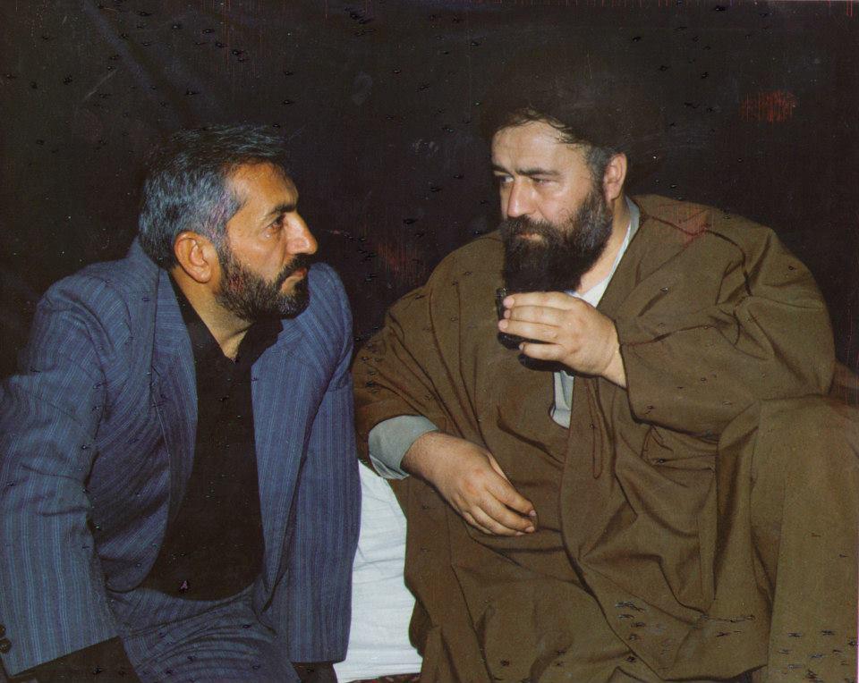 سید احمد خمینی و محمد غرضی