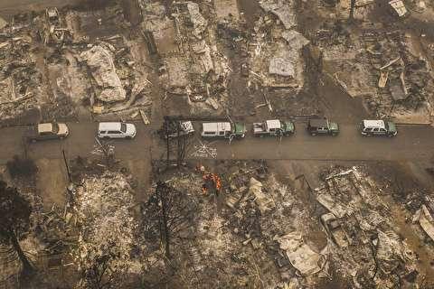بحران آتش سوزی در آمریکا + فیلم