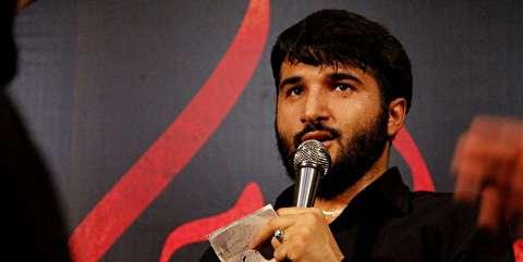 مداحی بیوکافی، سر مزار شهید حججی +فیلم