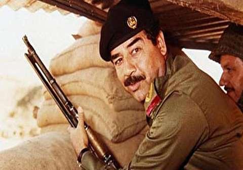 شلیک اولین توپ به سمت ایران توسط صدام و آغاز جنگ تحمیلی + فیلم