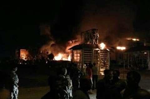 آتشسوزی مهیب در لبنیات؛ «میهن» منفجر شد + فیلم