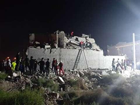 انفجار واحد مسکونی در اهواز با یک کشته و چهار مصدوم + فیلم