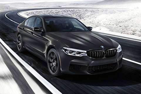 تبلیغ BMW M۵ + فیلم