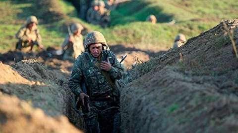 روز دوم جنگ در قره باغ  + فیلم
