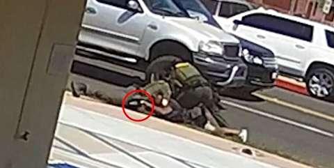 شلیک مرگبار پلیس آمریکا به مرد سیاهپوست + فیلم
