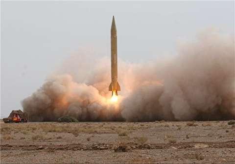 رونمایی از موشک جدید سپاه+فیلم