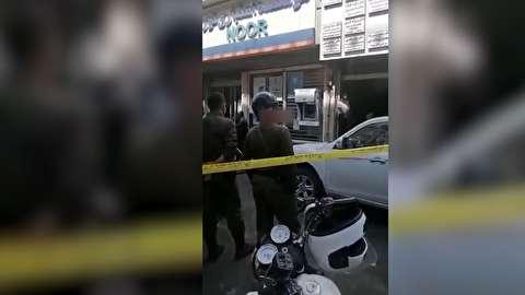 آتش زدن مطب پزشک به علت نداشتن پول ویزیت+فیلم