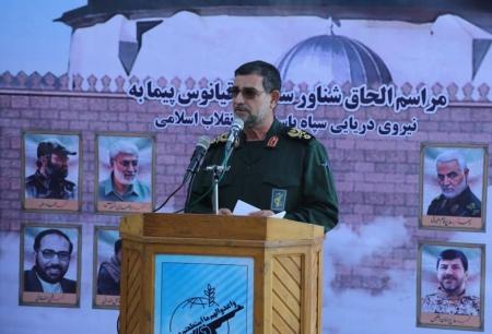 سردار سلامی: تهدید کنندگان منافع ایران هیچ نقطه امنی روی سیاره زمین نخواهند داشت + تصاویر