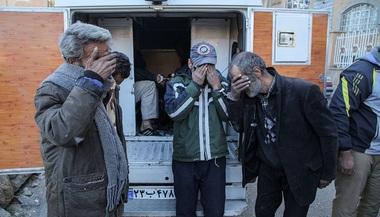 جمع آوری خرده فروشان مواد مخدر و معتادین متجاهر