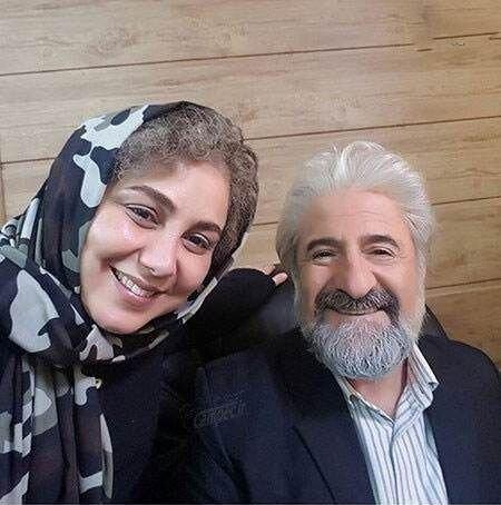 سلفی قدیمی بهنوش بختیاری و مهران رجبی   عکس