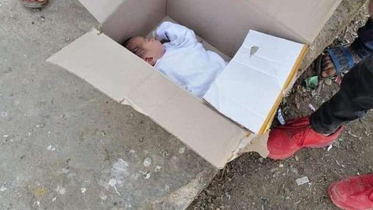 دختر بچهای که در سطل زباله پیدا شد!+عکس