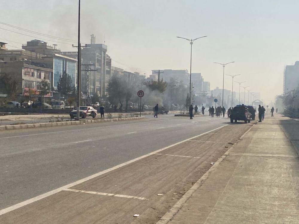 حمله راکتی و انفجار در پایتخت افغانستان:  ۱۴ کشته و زخمی تاکنون + فیلم و تصاویر