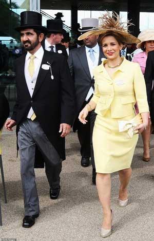 افشای رابطه همسر حاکم دوبی و بادیگارد انگلیسیاش +عکس