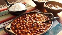 طرز تهیه لوبیا گرم یا خوراک لوبیا چیتی