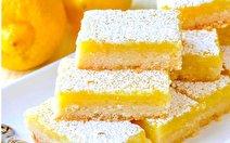طرز تهیه شیرینی لیمویی با روشی آسان