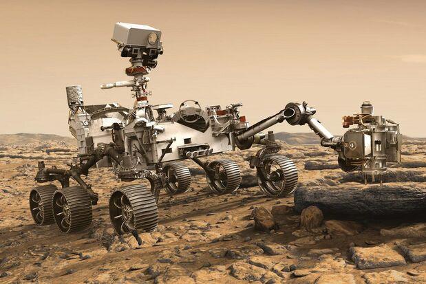 مریخ نورد استقامت چطور راهش را روی مریخ پیدا میکند؟