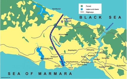 ابرپروژه کانال استانبول؛ رویای ۵۰۰ ساله سلطان سلیمان تعبیر میشود؟