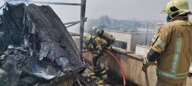 آتشسوزی مهیب در مرکز شهر تهران+فیلم