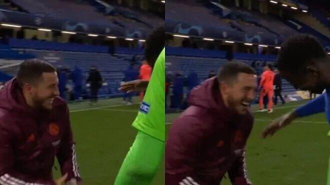 خشم هواداران از خندههای ازار پس از حذف رئال مادرید از لیگ قهرمانان اروپا+عکس