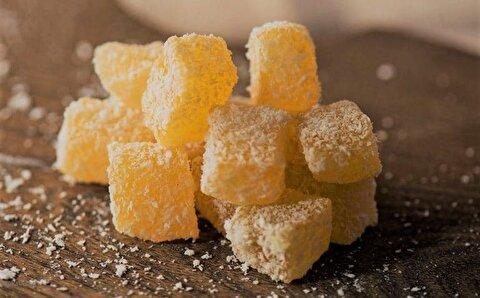 طرز تهیه لوکوم پرتقالی، شیرینی خوشمزه ترکیه