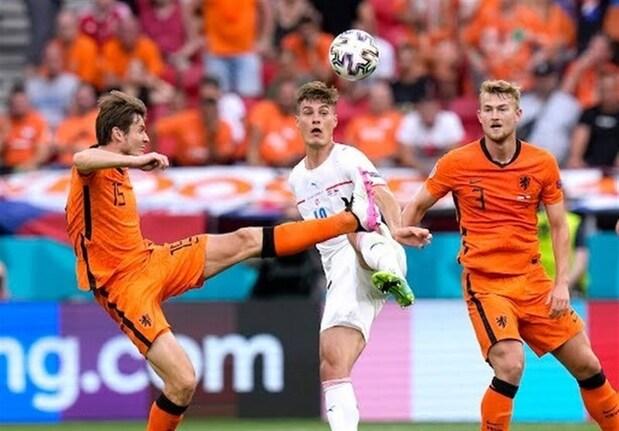 شکست هلند مقابل جمهوری چک به روایت تصویر