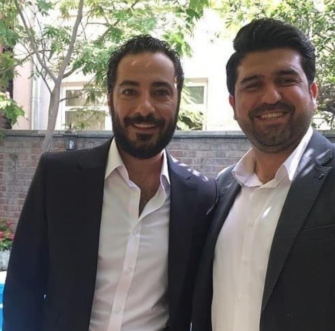 عقد نوید محمدزاده و فرشته حسینی در روز عید غدیر+عکس