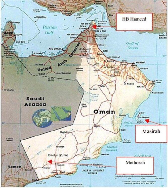 اخباری از حمله به یک کشتی در سواحل عمان